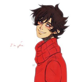 Holy shit humanstuck Kankri is hot even when he's upset.