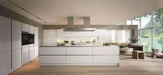 Check out the Luxury kitchens collections by German Kitchen furniture Manufacturer - SieMatic >> Hidden kitchen design by Minosa Design >. Kitchen Manufacturers, Kitchen Design Styles, Kitchen And Bath, Kitchen Decor, Contemporary Kitchen, Kitchen Fittings, Modern Kitchen Design, Kitchen Without Handles, Luxury Kitchen Design