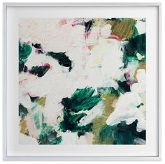 Bold hints of green make this piece the perfect focus point for your home decor.
