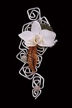 Corsage or smaller version for boutonniere. Design by Andy Djati Utomo