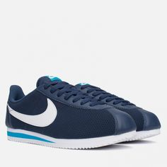 79f92ccf Кроссовки Nike Classic Cortez Leather Midnight Navy/White/Blue Article:  540998-414 Release: 2015