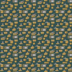 Boxed Cats fabric by karmakazi on Spoonflower - custom fabric