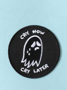 Cry Now Cry Later Patch - Gypsy Warrior