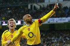 Aleksandr Hleb, Thierry Henry