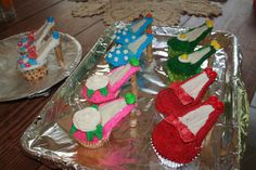 The Fly House: High Heel Shoe Cupcakes