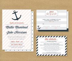 anchor wedding invitations Check more image at http://bybrilliant.com/2496/anchor-wedding-invitations