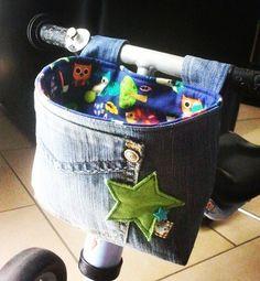Für meinen Neffen habe ich vor längerer Zeit mal eine Lenkertasche fürs Puki…