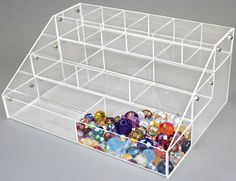 Store supplies to meet all your retail store needs. We've been providing quality products around the world for decades. 16 x x 7 Clear Jewelry Store Displays, Jewelry Stores, Store Supply, Crystal Beads, Crystals, Jewelry Organization, Bead Crafts, Clear Acrylic, Toy Chest