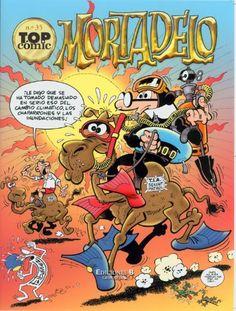 TOP COMIC MORTADELO Y FILEMON NOº35 (Spanish Edition) by FRANCISCO IBANEZ. $16.34. Series - Top Comic (Book 35). Publication: July 15, 2010. Publisher: EDICIONES B (July 15, 2010). Save 22%!