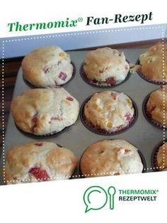 Pizzamuffins von Bine0803. Ein Thermomix ® Rezept aus der Kategorie Backen herzhaft auf www.rezeptwelt.de, der Thermomix ® Community.