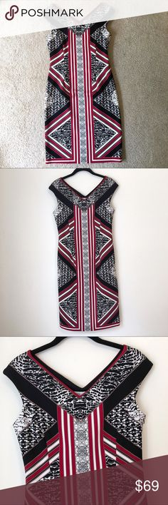 💝 Maggy London Print Dress 💝 Maggy London Print Dress Maggy London Dresses Midi