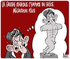 La gauche radicale de #Syriza l'emporte en Grêce ... #Mélenchon rêve :
