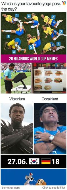20 Hilarious World Cup memes #worldcup #hilarious #amazing #memes #fifa2018 #fifa2k18 #football #worldcupmemes #bemethat