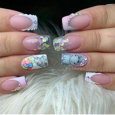 Secret Nails, Nail Spa, Manicure, Nail Designs, Nail Polish, Make Up, Pretty, Almond, Beauty
