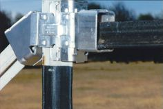 Proving itself for over 20 years throughout North America & Europe, WEDGE-LOC® Bracing Hardware for T-posts is the most convenient, dependable, & exciting fencing system on the market. Lawn And Garden, Garden Tools, T Post Fence, Types Of Braces, Outside Storage, Horse Fencing, Gate Latch, Pipe Wrench, Farm Fence