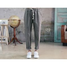 Buy 'DANI LOVE – Drawstring-Waist Baggy Pants' with Free International Shipping at YesStyle.com. Browse and shop for thousands of Asian fashion items from South Korea and more!