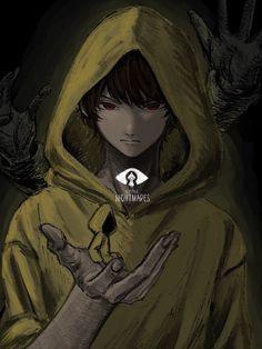 Anime Neko, Anime Guys, Anime Art, Little Nightmares Fanart, Undertale Comic Funny, Villainous Cartoon, Surreal Photos, Satsuriku No Tenshi, Drawing Reference Poses