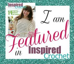 Oombawka Design - Giveaway ends April 30, 2013 12:00am ! Don't miss out on your chance to win a free digital copy of Inspired Crochet May 2013 edition !! Over 100 pages of inspiring crochet patterns and articles up for grabs!!