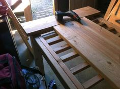 I built a table. A legitimate dining-room table. Interested in building a piece of furniture too? Start here: www. Build A Farmhouse Table, Build A Table, Farmhouse Style, Farmhouse Decor, Diy Dining Table, Rustic Table, Patio Tables, Farm Tables, Outdoor Tables