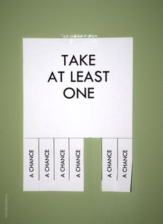 #quote #quotes Take at least one #chance #wisdom #fun