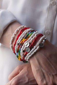 ONE bracelets-the more, the merrier!