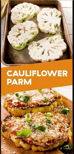 Cauliflower Parmesan | Family Recipes #cauliflower #cauliflowerrecipes #parmesan