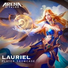 Create a Video or Fan Art of Lauriel and share it below for a chance to be featured on Friday! #AOV #ArenaofValor