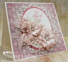 Heartfelt Creations | Delicate Pink Arianna Blooms