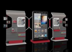 HUAWEI STAND on Behance