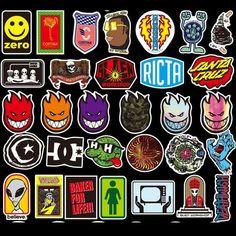 Surf Stickers, Brand Stickers, Tumblr Stickers, Phone Stickers, Sticker Bomb, Logo Sticker, Sticker Design, Skateboard Deck Art, Skateboard Design