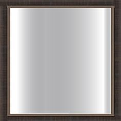 Dark Scratched Bronze Framed 24-inch Square Glass Mirror - Overstock™ Shopping - Big Discounts on Mirrors