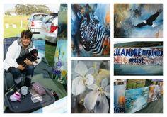 Jeandre Marinier - Artist  Address: 6 Kingfisher Road, Hemel and Aarde Estate, Hermanus Tel: 060 6768 652 Email: marinier.jeandre@sfr.fr