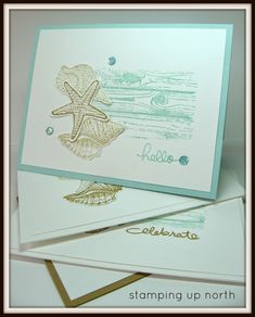 stamping up north with laurie: Paper Players...beach theme challenge