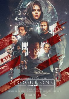 Star Wars: Rogue One Poster - Created by Laura Racero>>>>> I love that they put Grand Moff Tarkin.