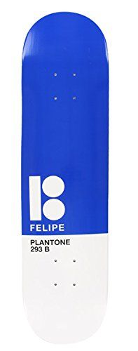"Plan B Felipe Plantone 7.7 Blue/White Skateboard Deck - http://shop.dailyskatetube.com/product/plan-b-felipe-plantone-7-7-bluewhite-skateboard-deck/ -  Plan B Felipe Plantone 7.7 Blue/White Skateboard Deck Logo: Plan B Deck width: 7.7"" NOTE: Does now not include griptape. Griptape should be ordered one at a time. PRO: FILIPE GUSTAVO  -"