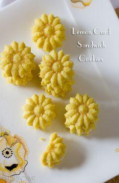 Lemon Cookies Recipe with Lemon Cream Filling