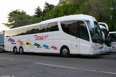 Autobus de 70 plazas para tus viajes, bodas, eventos y mas Madrid, Mariana, Towers, Viajes, Culture