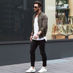 Mens street fashion