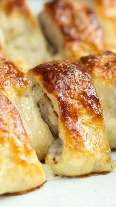 Get your sausage and pretzel fix together with these inventive rolls made with whole-grain mustard and Gruyere.