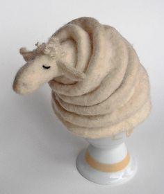 Eierwärmer Schaf.