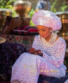 BellaNaija Weddings presents Aisha & Mustapha's Regal Wedding African Wear, African Attire, African Women, African Dress, African Clothes, African Outfits, Nigerian Outfits, Nigerian Bride, Muslim Wedding Dresses
