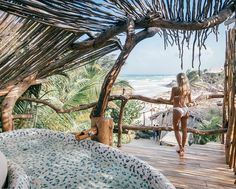 Azulik Hotel Tulum via Azulik Hotel Tulum, Azulik Tulum, Hotel S, Dream Dates, Outdoor Baths, Road Trip, Outdoor Living, Outdoor Decor, Beautiful Hotels
