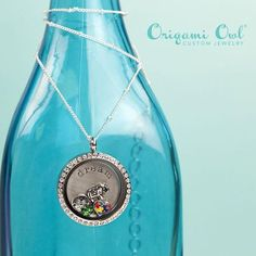 Origami Owl April Autism Month Locket  www.owllockets.com