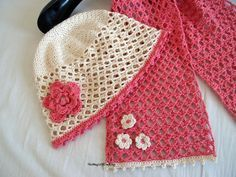 Free crochet patterns and DIY, crochet charts: Gentle Pink Scarf