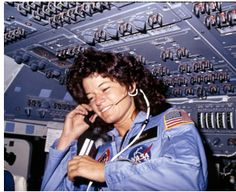 June 18, 1983, Sally Ride became the first woman in space. Read the Commencement Address Sally Ride Never Gave.