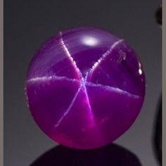 JY: Purple Star Sapphire  WOW!! I would LOVE to have thi gorgeous gem!! I have a pink 6pt star sapphire and a 6pt star garnet..K♥