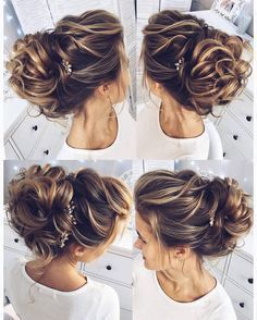 Wedding Hairstyles for Long Hair from Tonyastylist / www. Wedding Hairstyles for Long Hair from Tonyastylist / www. Wedding Hairstyles For Long Hair, Wedding Hair And Makeup, Formal Hairstyles, Wedding Updo, Bride Hairstyles, Pretty Hairstyles, Bridal Hair, Hair Makeup, Hairstyle Ideas