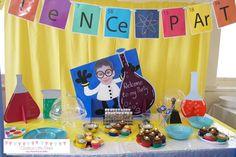 Mesa Principal - Festa Pequenos Cientistas