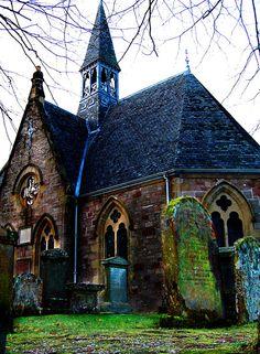 what a photo-Luss Parish Church, Loch Lomond