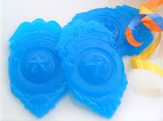 10 POLICE SOAP FAVORS - Birthday Party Favors - Baby Shower Favor - Wedding Favor on Etsy, $20.00